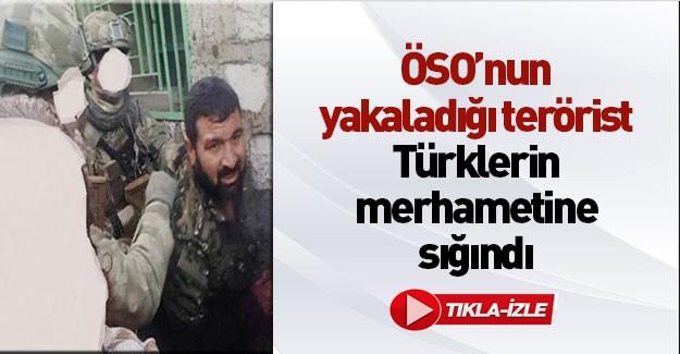 Yakalanan terörist Beni Türk askerine verin Diye Ağladı