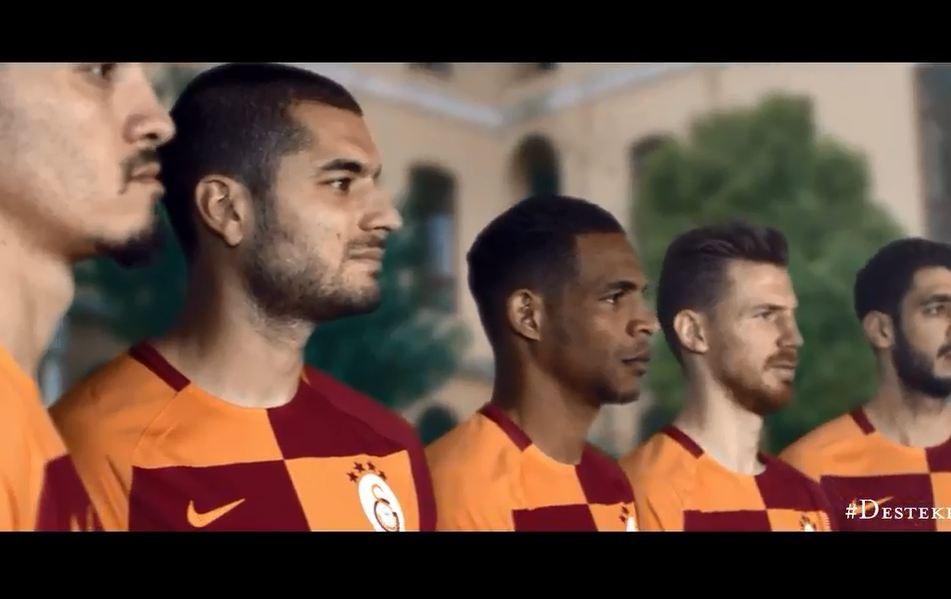 Tüyleri diken diken yapan Galatasaray reklamı (YENİ)