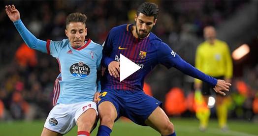 Barcelona Emre Mor'lu Celta Vigo'yu mahvetti. (ÖZET)
