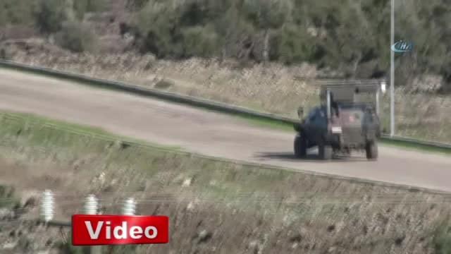Afrin sınırında mehter marşı çaldılar!