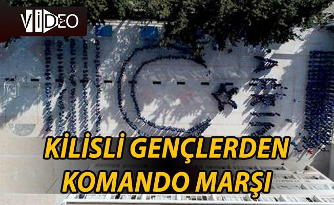 Kilisli Öğrencilerden Mehmetçik'e Destek