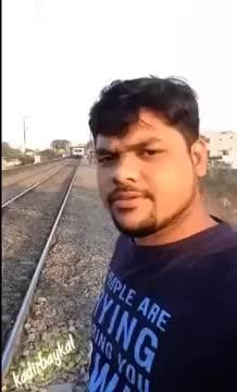 train hit OMG!