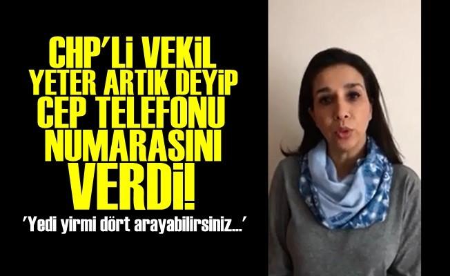 VEKİL CEP TELEFONUNU PAYLAŞTI!