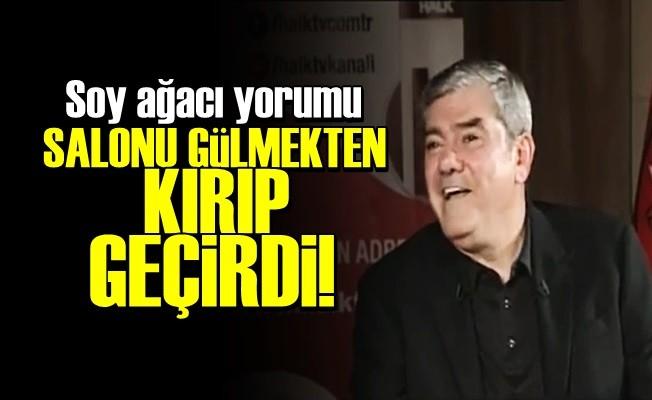 ÖZDİL'İN SOY AĞACI YORUMU KIRIP GEÇİRDİ!