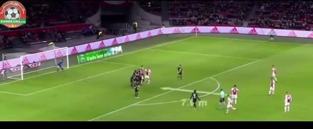 Hakim Ziyech'ten muazzam frikik golü