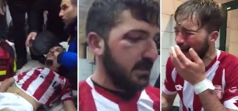 Futbolcuları öldüresiye dövdüler (+18)