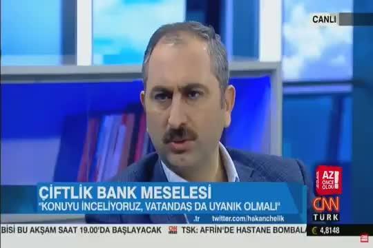 Flaş!!! Adalet Bakanı'ndan Çiftlik Bank açıklaması!