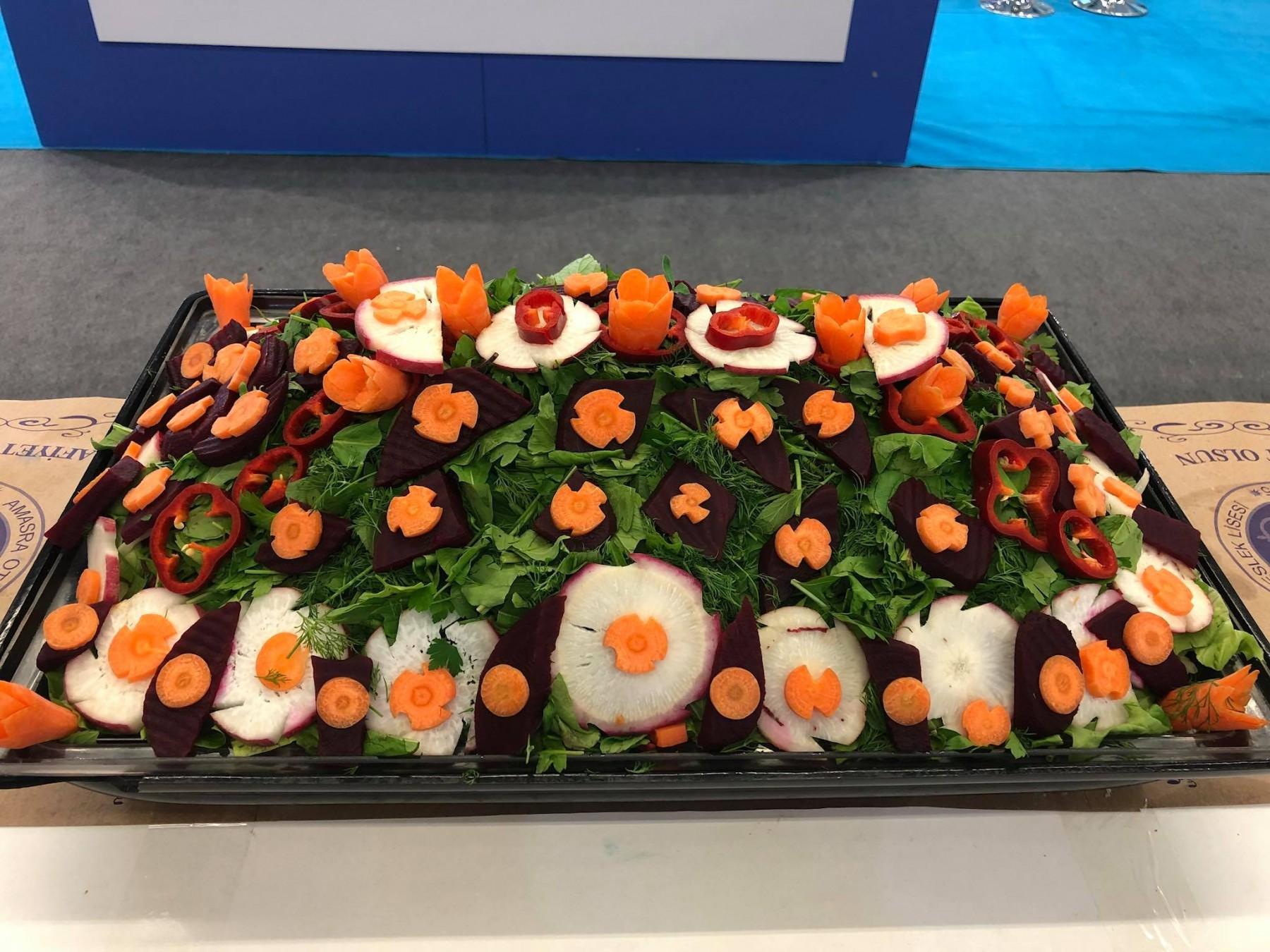 Amasra Salatası ve Ballı Manda Yoğurdu Expo Travel'da
