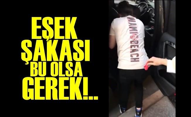 RESMEN EŞEK ŞAKASI!..