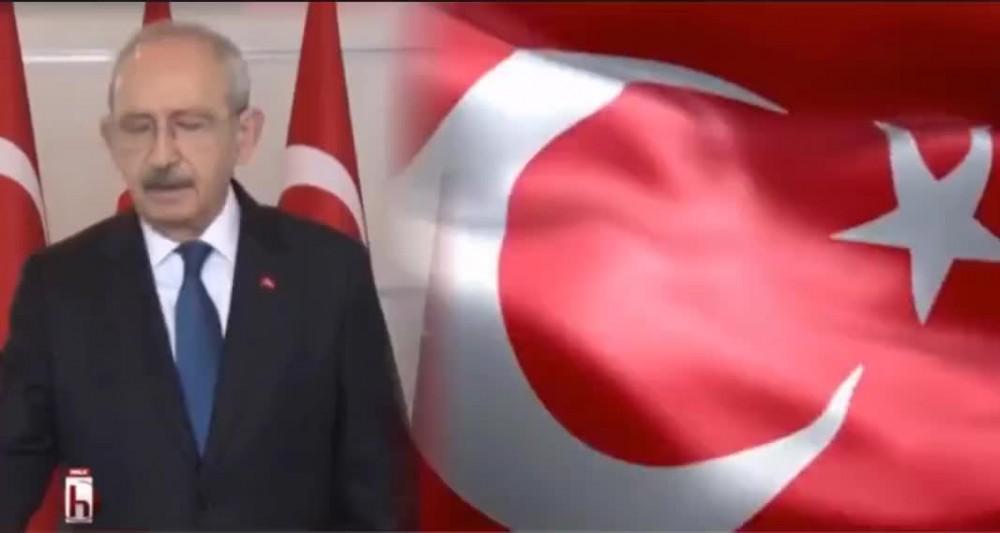 Kılıçdaroğlu'ndan 8 şehidimiz için Türk bayrağı çağrısı
