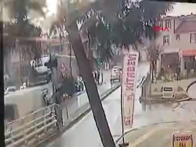 Kocaeli'de korkunç kaza kameralarda