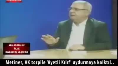 AK Partili vekilin ayeti Çarpıtma Anı!