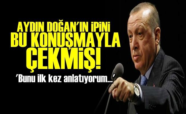 AYDIN DOĞAN'IN İPİNİ BÖYLE ÇEKMİŞ!