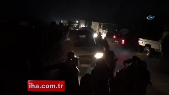 ÖSO Afrin'e girdi