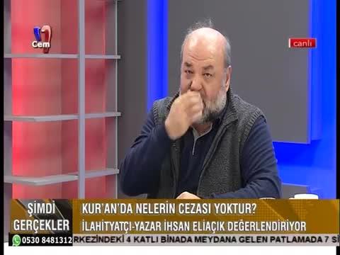 İhsan Eliaçık'tan çok tartışılacak ifadeler...