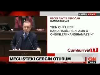 Tayyip Erdoğan grup toplantısında Özgür Özel'i hedef tahtasına oturttu!