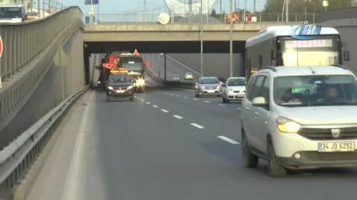 Kocaeli'den 280 tekerlekli TIR geçti