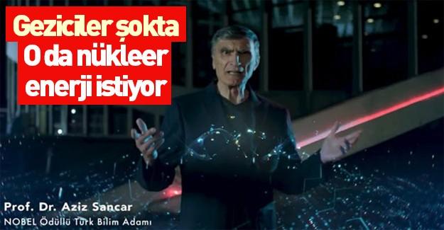 Nükleer Enerji Güçlü Türkiye AZİZ SANCAR