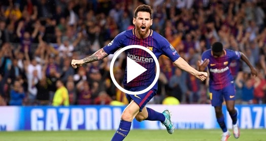 ÖZET   Barcelona 3 - 0 Juventus