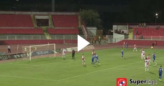 Sırp liginde çılgın gol!