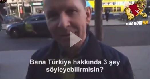 İrlandalıların Türkler hakkında bildiği şeyleri sormuşlar