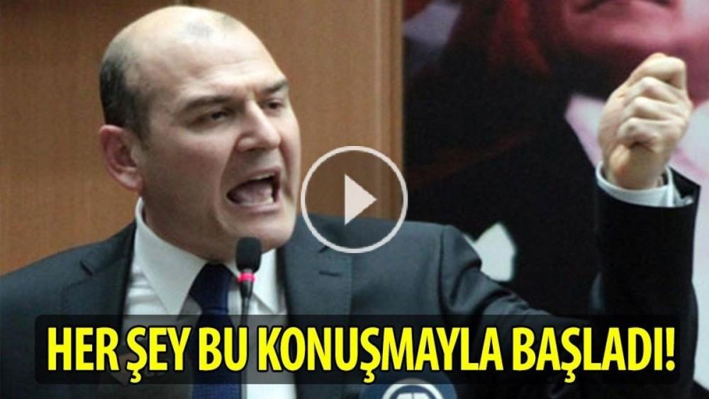 HER ŞEY SÜLEYMAN SOYLU'NUN BU KONUŞMASIYLA BAŞLADI!! HELAL OLSUN!!