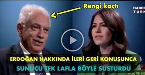 Doğu Perinçek Erdoğan Hakkında İleri Geri Konuşunca Sunucu Tek Lafla Böyle Susturdu