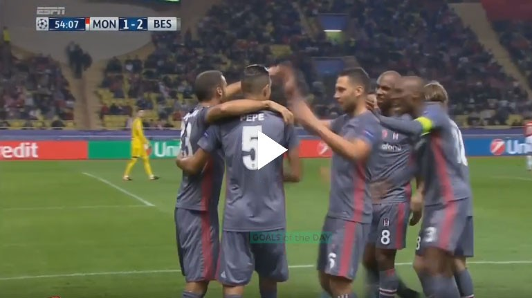 ÖZET | Monaco 1 - 2 Beşiktaş