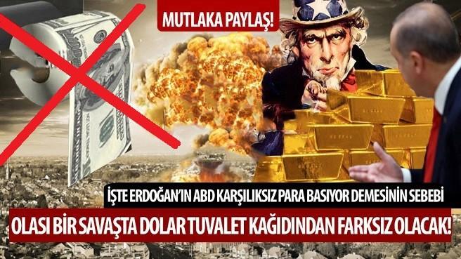 ABD'NİN DÜNYAYA ATTIĞI DOLAR KAZIĞI!! MUTLAKA İZLE-PAYLAŞ ŞOK OLACAKSINIZ!!