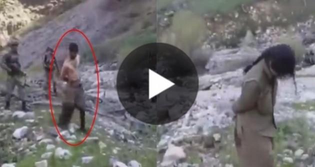 Tunceli Aliboğazı'ndan yola mayın döşerken yakalanan PKKLI ! ilk defa yayınlanan görüntüler! İbret-i Alem İçin Paylaşş