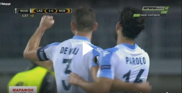 ÖZET   Lazio 1 - 0 Nice