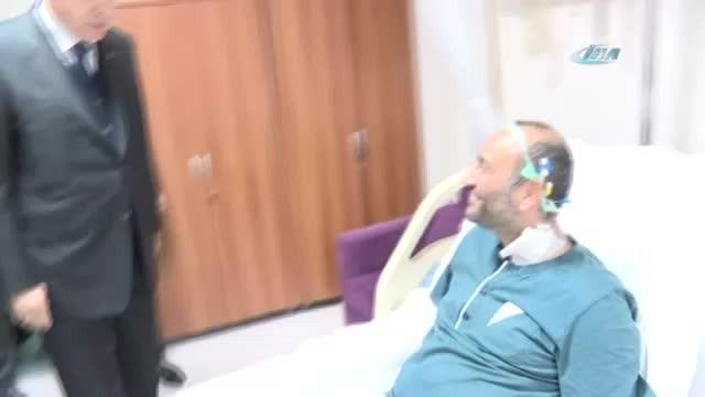Cumhurbaşkanı Erdoğan onu ziyaret etti