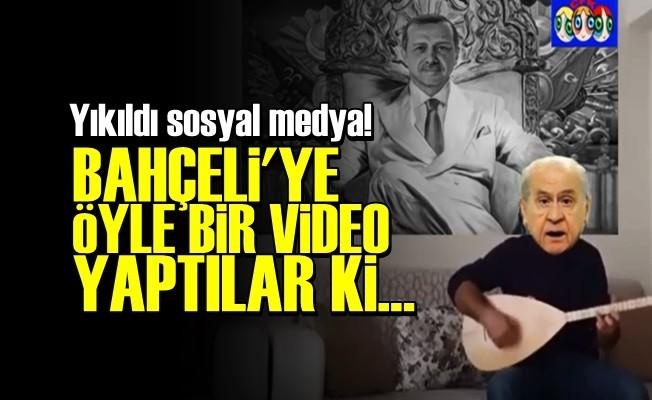DEVLET BAHÇELİ'YE OLAY KLİP!..